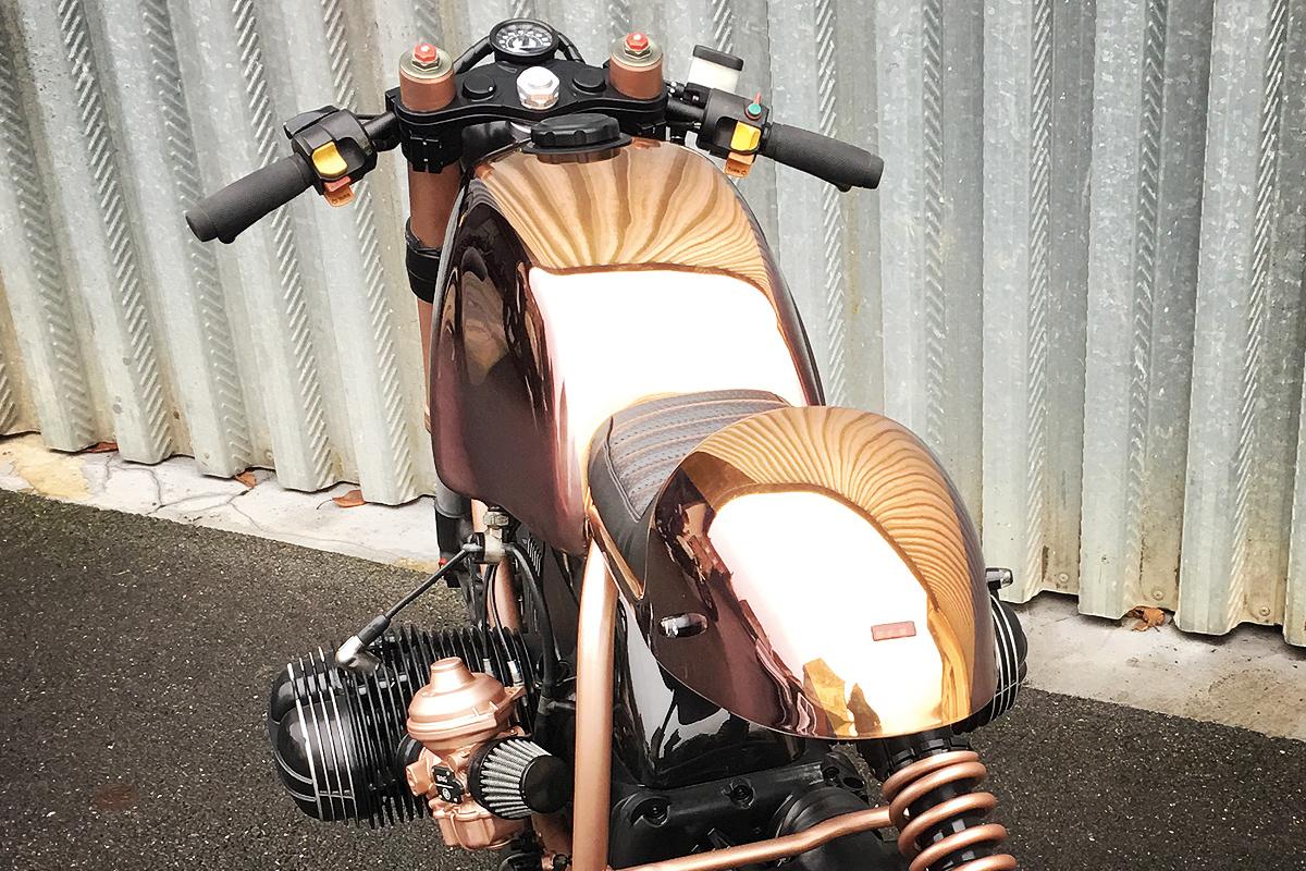 BMW R100R copper cafe racer