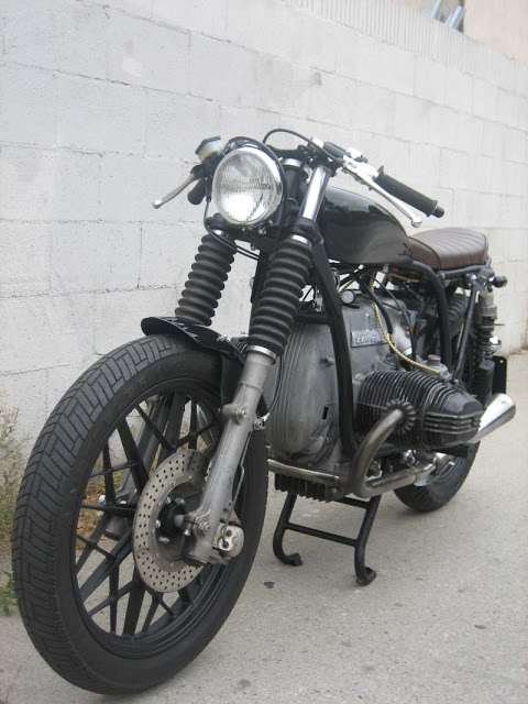 Return of the Cafe Racers - Bad ass BMW