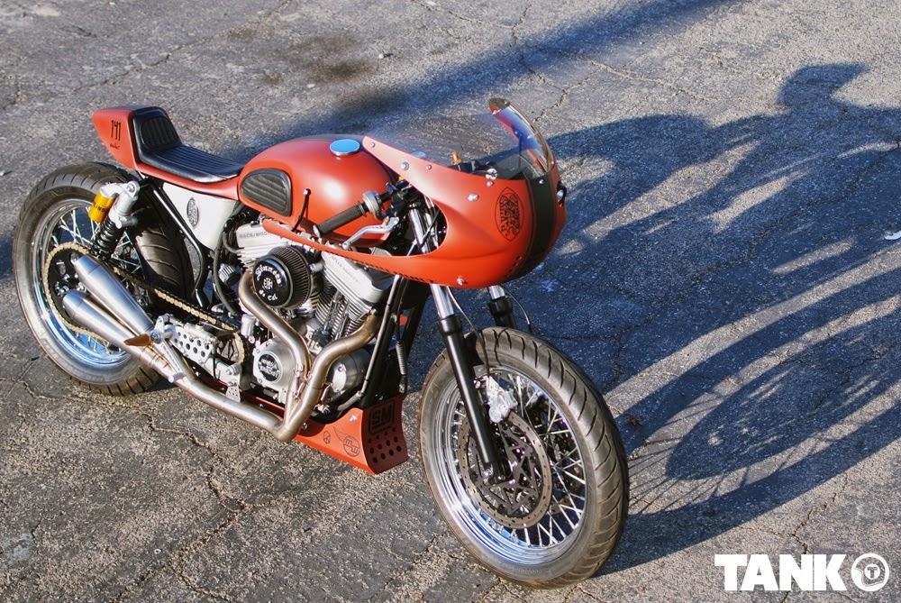 Return of the Cafe Racers - The Mako Harley Davidson Sporster
