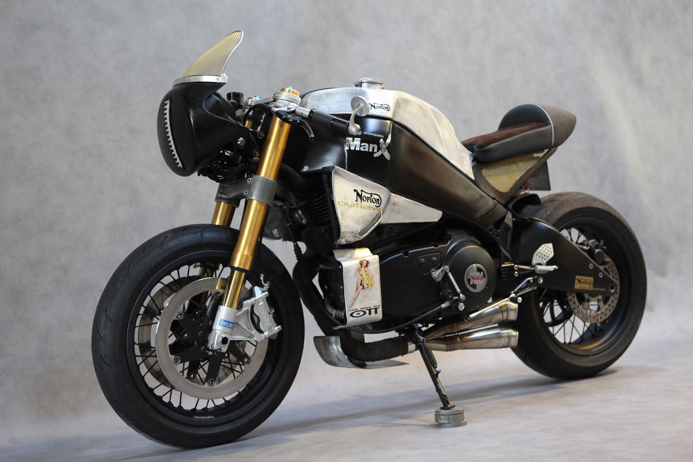 Return of the Cafe Racers - Buell Norton Manx Neoretro