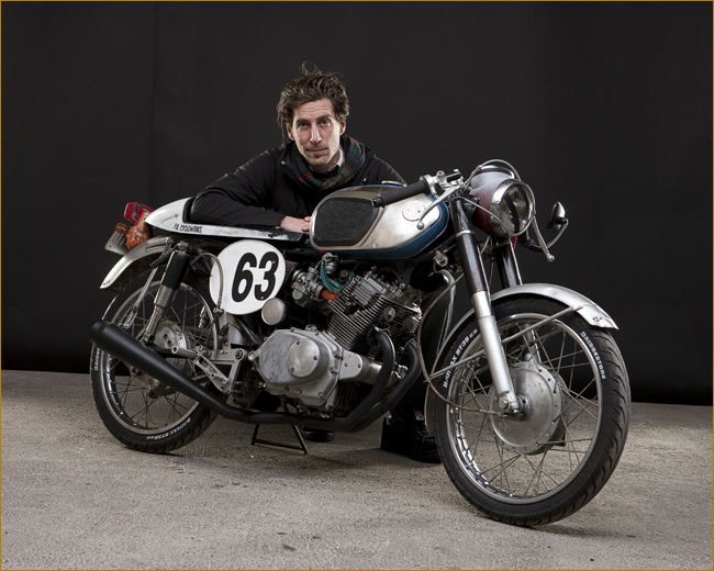 Return of the Cafe Racers - Motorcycle made from Beer