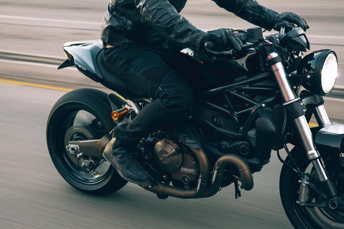 The Bullitt custom Ducati Monster