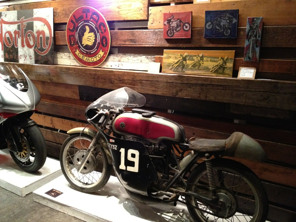 Return of the Cafe Racers - The One Motorcycle Show 2012