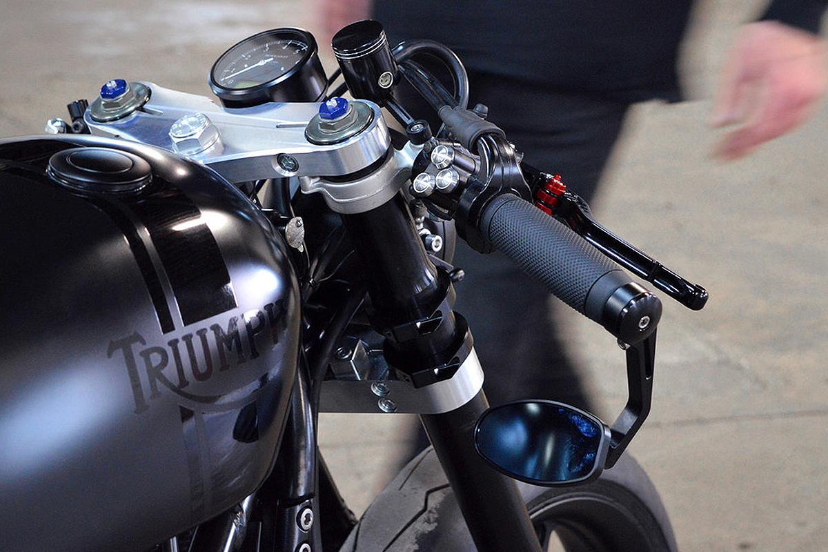 Gasoline custom Triumph Bonneville