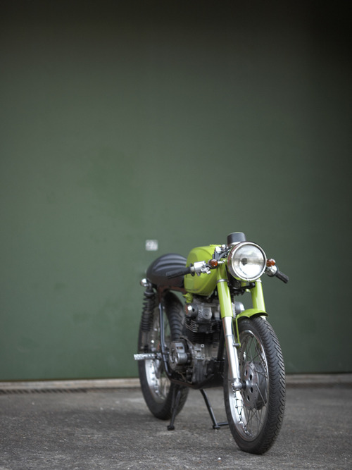 Return of the Cafe Racers - Green with Envy part 2