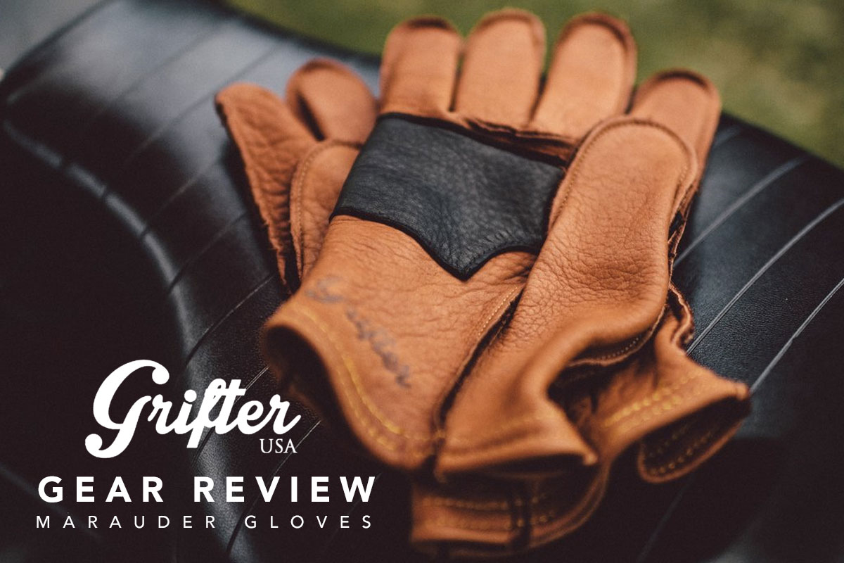 Return of the Cafe Racers - Gear review – Grifter Marauder gloves