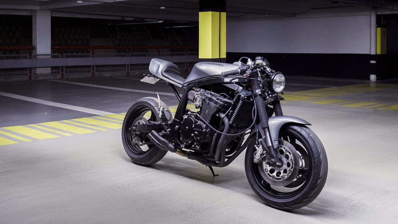 Return of the Cafe Racers - Le French Atelier Suzuki GSX-R 750