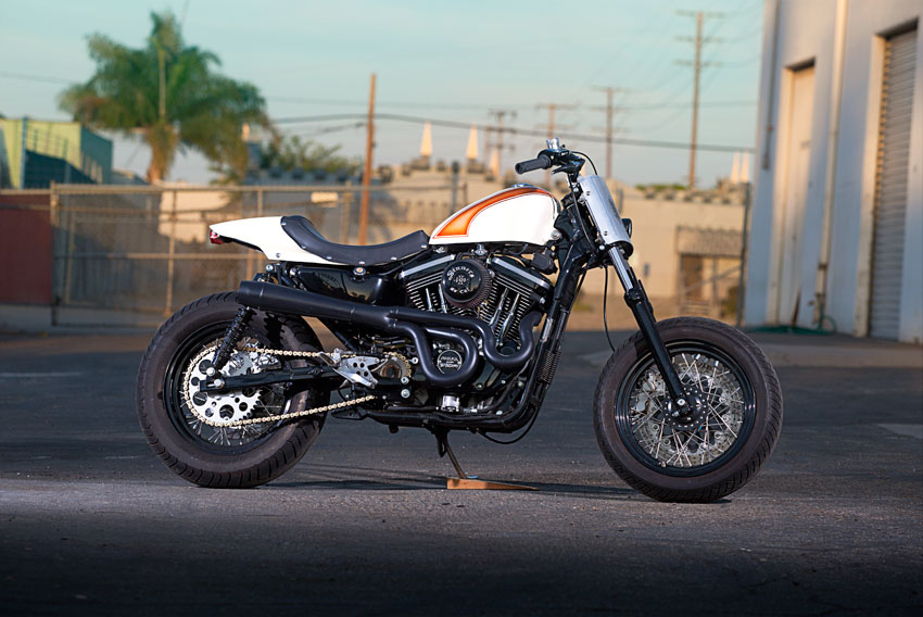 Return of the Cafe Racers - Harley Davidson Street Tracker