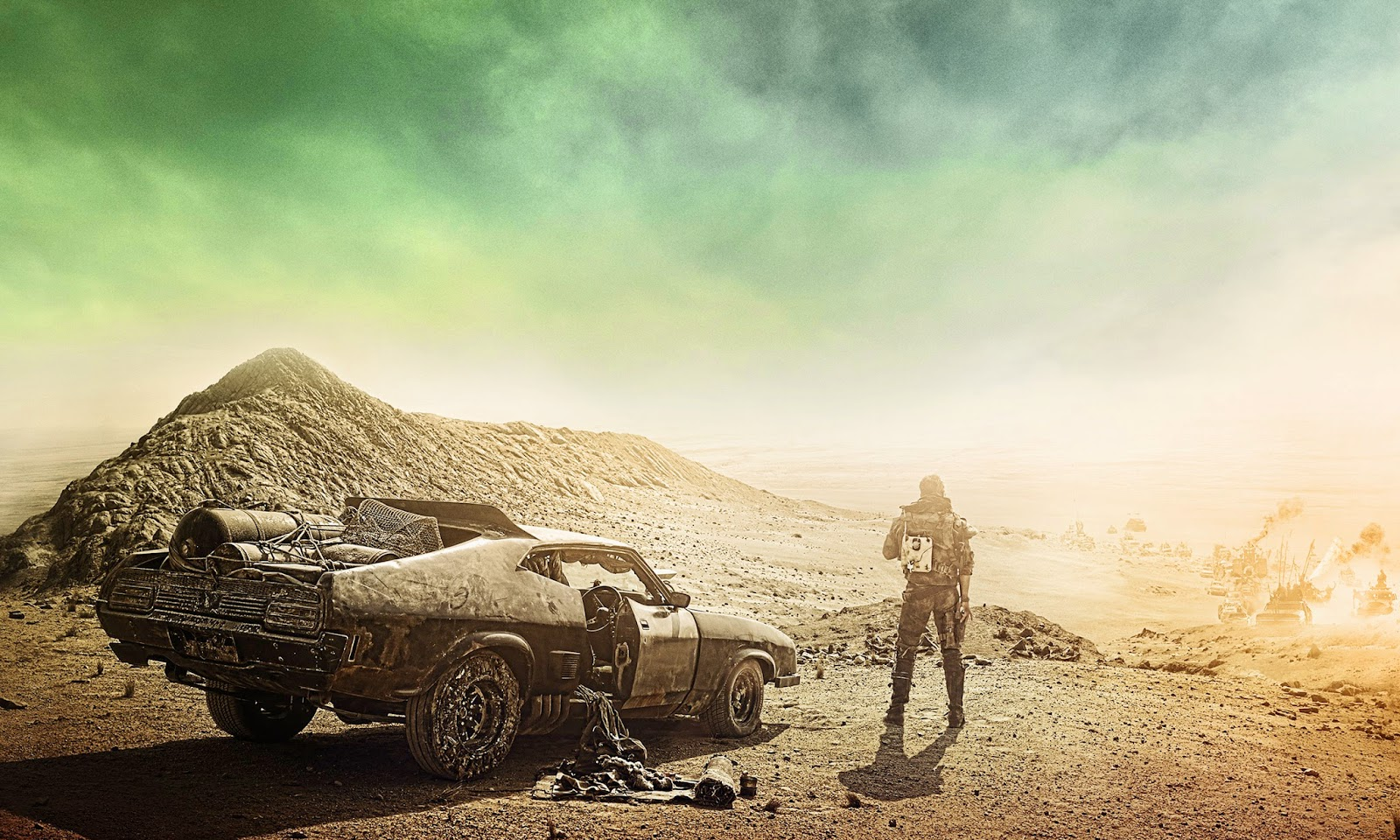 Return of the Cafe Racers - Mad Max Fury Road Trailer