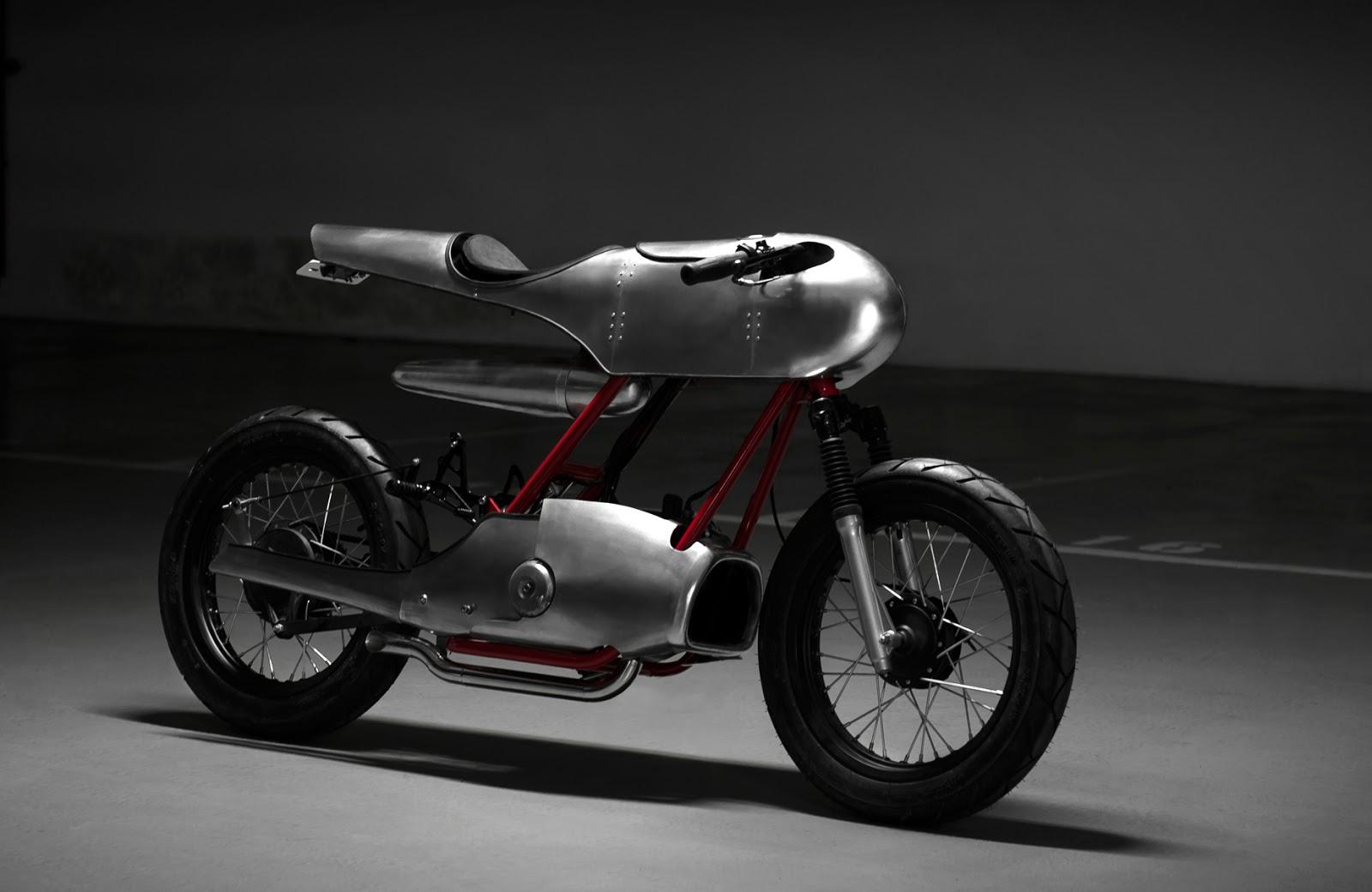 Return of the Cafe Racers - Honda Super Cub Roadrunner concept