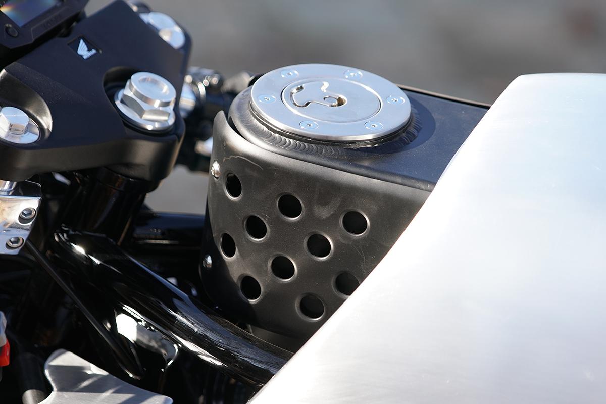 Honda TLR200 custom motorcycle