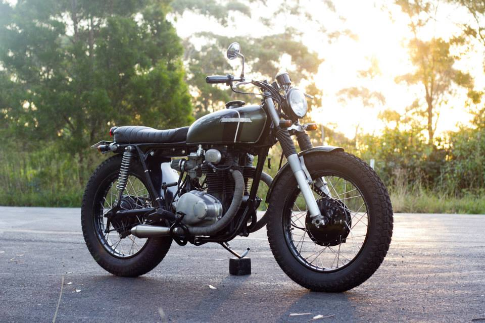 Return of the Cafe Racers - Honda CB250 Brat Tracker