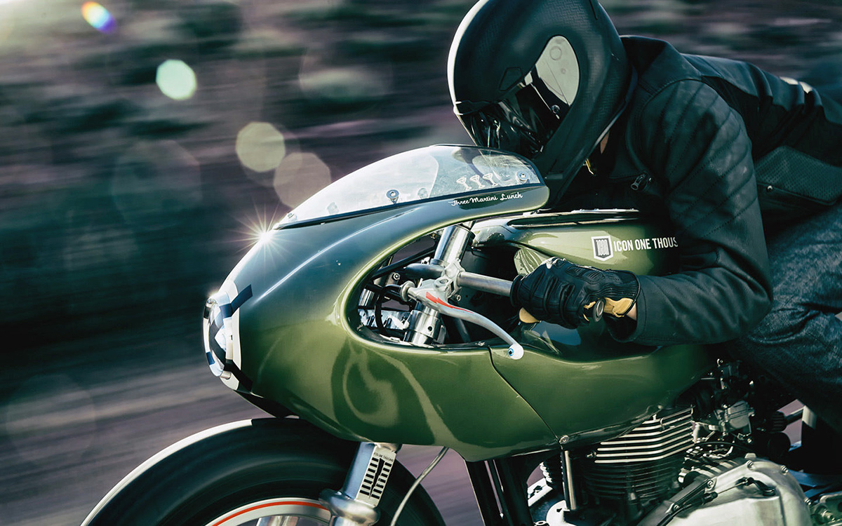 Return of the Cafe Racers - Three Martini Lunch – Icon 1000 Triumph Thruxton