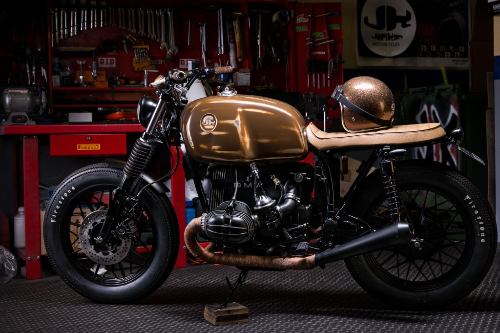 Return of the Cafe Racers - BMW R65 by Jerikan