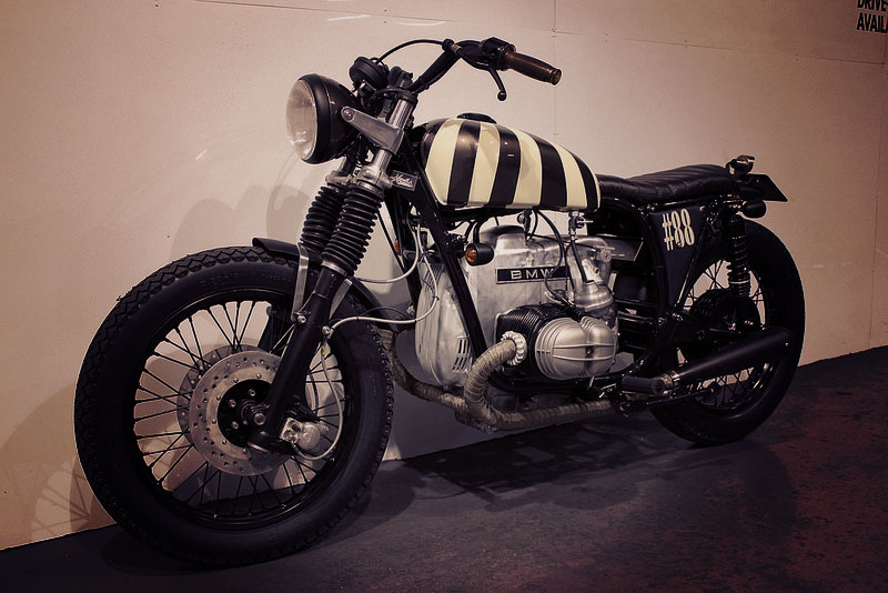 Return of the Cafe Racers - BMW R100 Hashtag 88 by Kevils