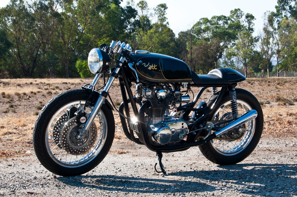 Return of the Cafe Racers - 1972 XS2 Kott Motorcycles