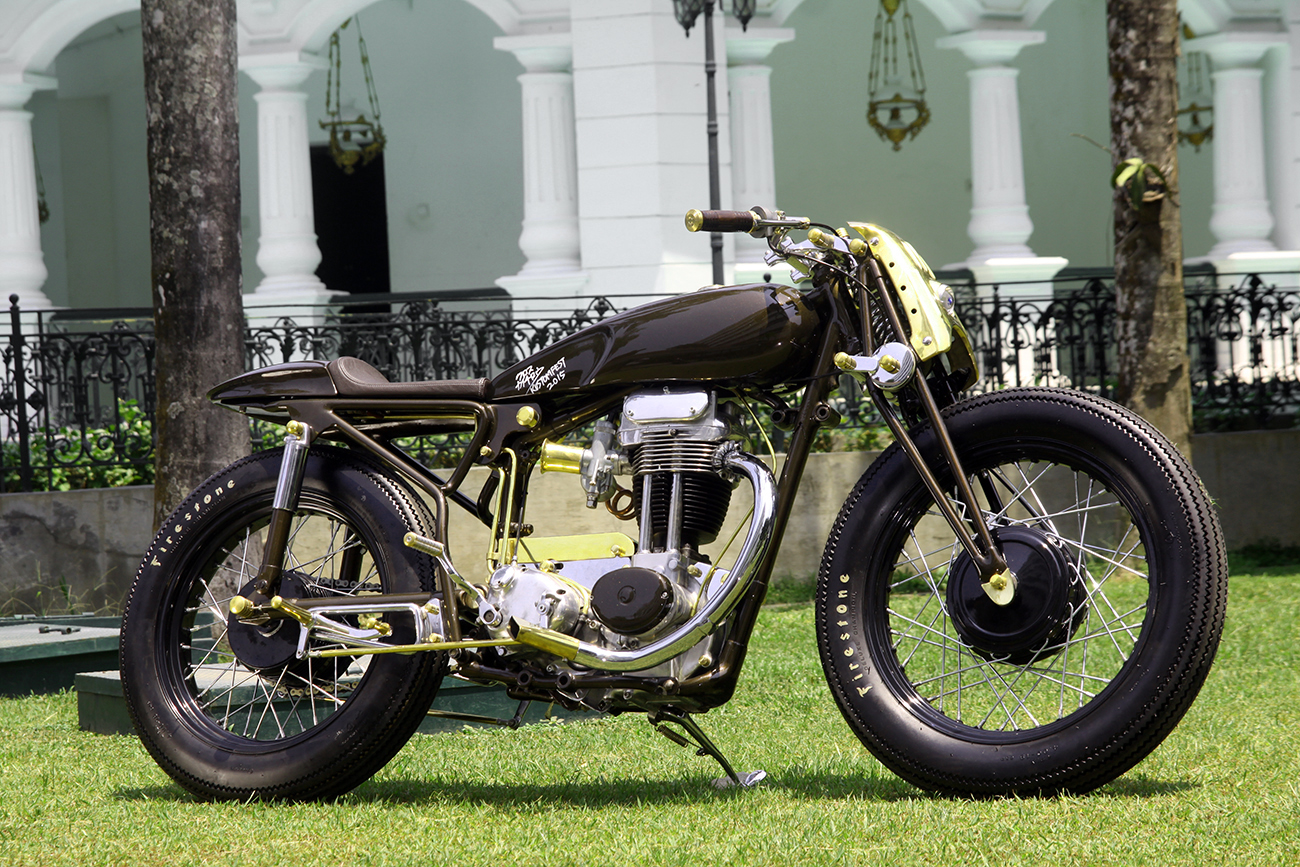 Return of the Cafe Racers - Krom Works Matchless Cafe Racer
