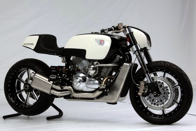 Return of the Cafe Racers - Krugger Veon transforming Cafe Racer