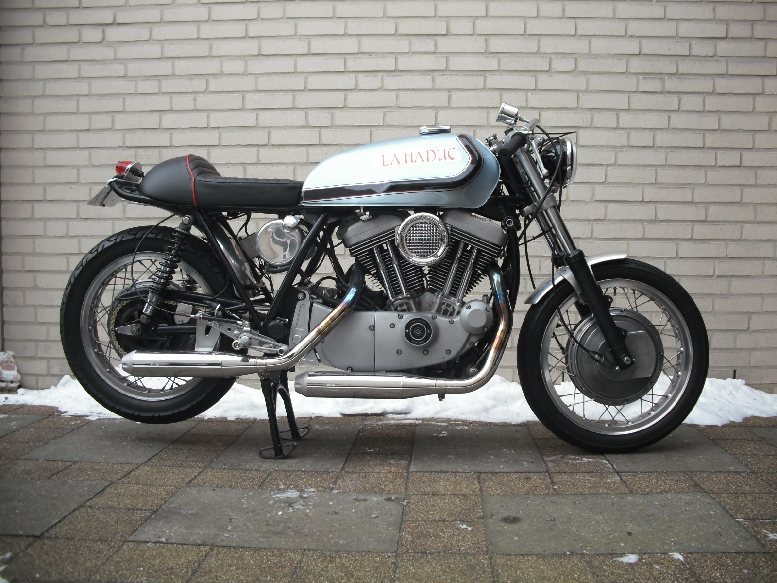 Return of the Cafe Racers - Readers Rides: La Haduc Cafe Racer