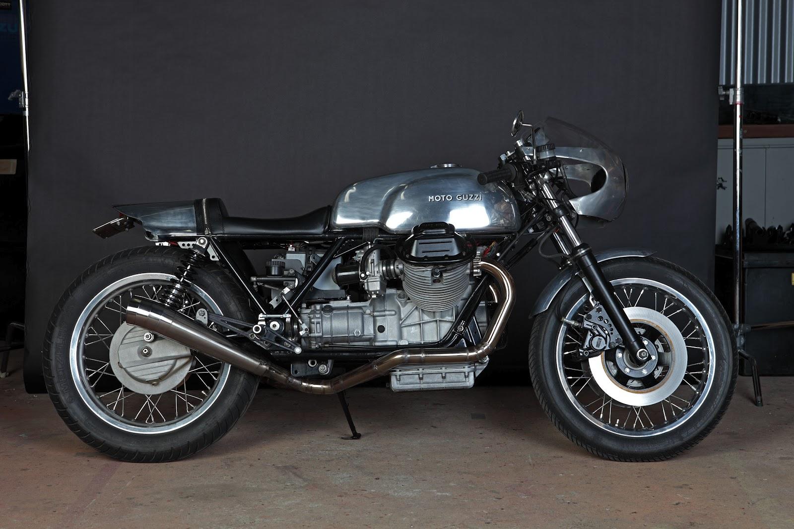 Return of the Cafe Racers - Machine Moto Guzzi Mk1 Le Mans