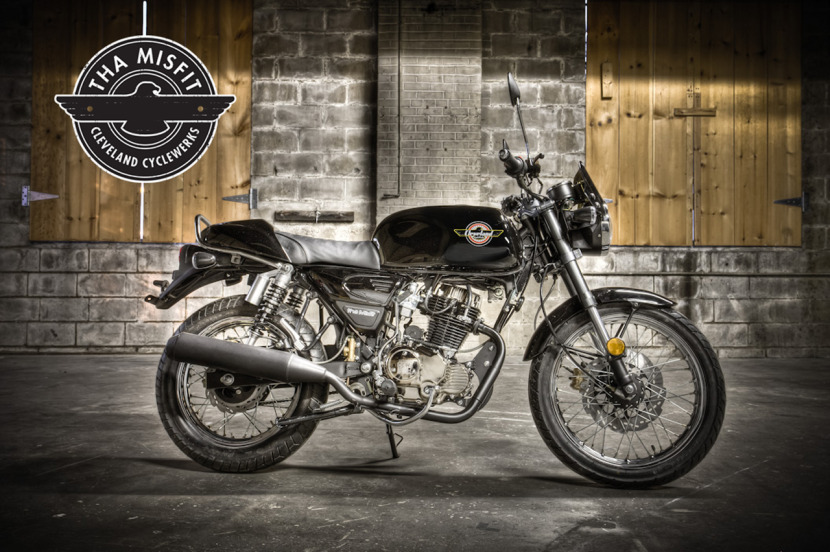 Return of the Cafe Racers - Cleveland CycleWerks Low cost Cafe Racer