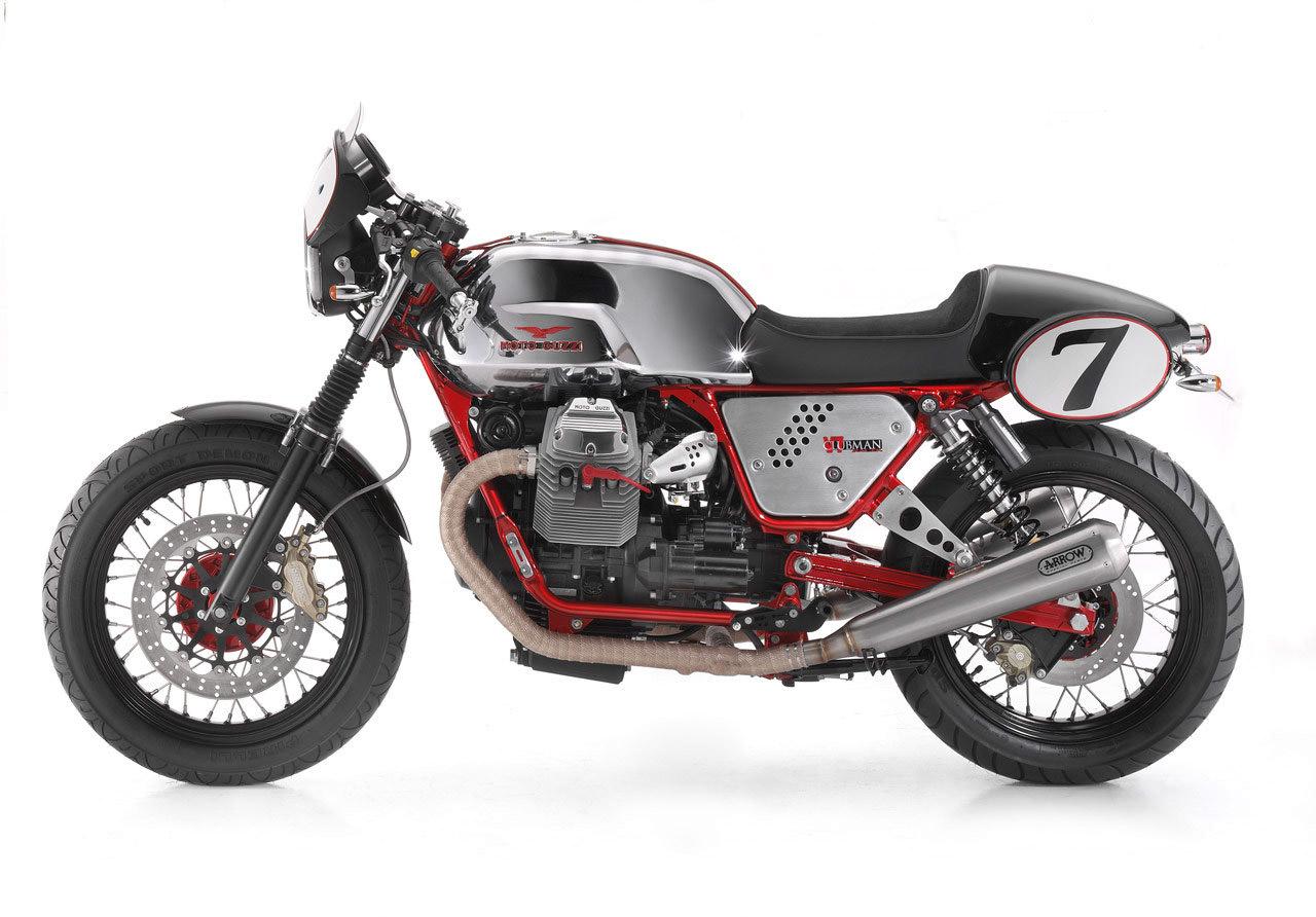 Return of the Cafe Racers - Moto Guzzi V7 Cafe Racer