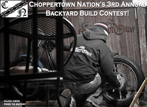 Return of the Cafe Racers - Choppertown Nations 3rd Backyard Build contest