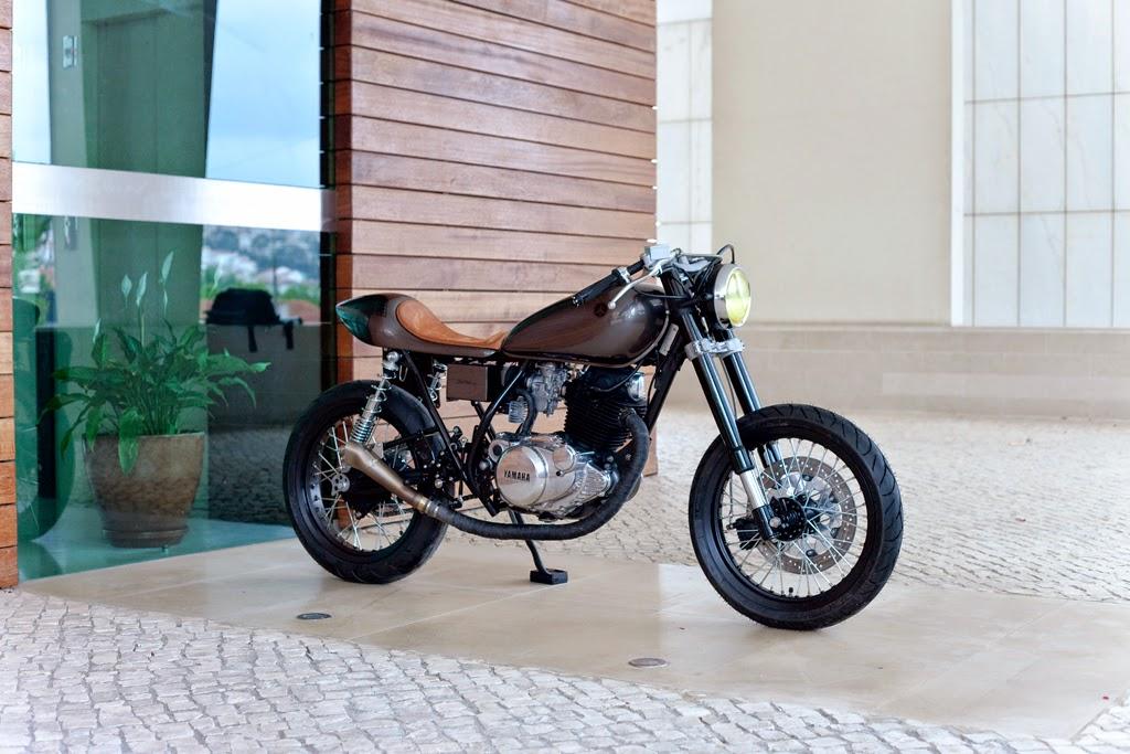 Return of the Cafe Racers - Yamaha SR250 Saudade