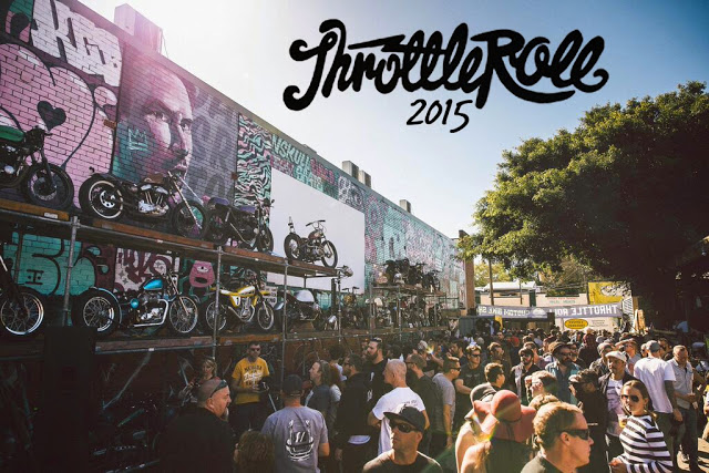 Return of the Cafe Racers - Throttle Roll 2015