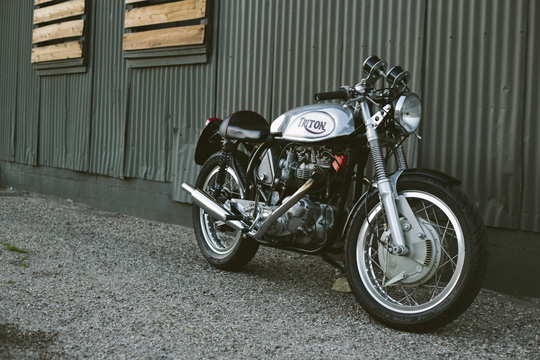 Return of the Cafe Racers - Iron & Resin Triton Cafe Racer