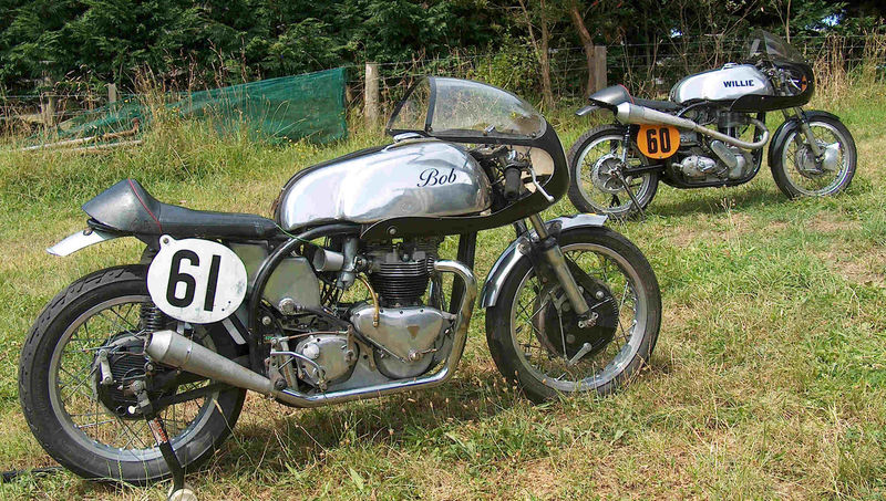 Return of the Cafe Racers - eBay find: Triton racing pair