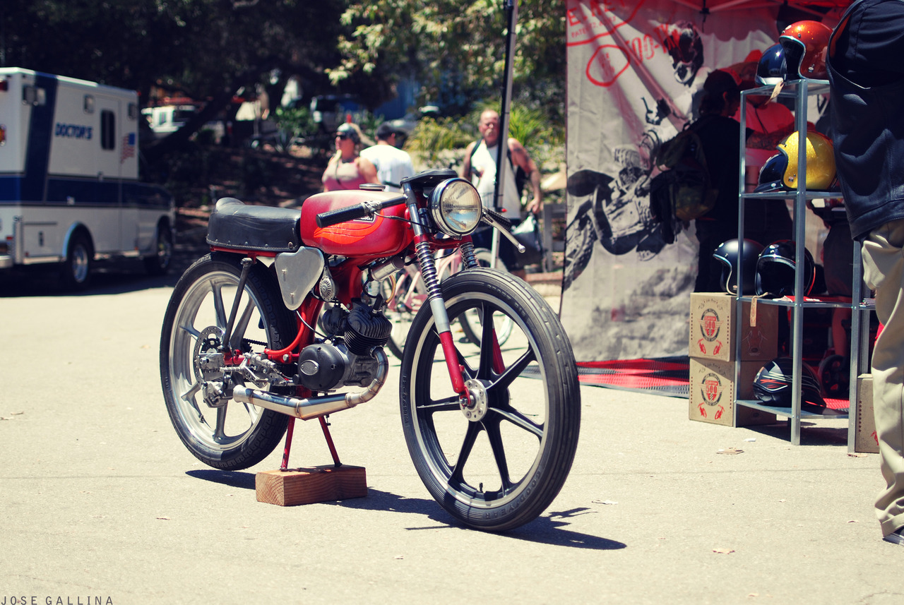 Return of the Cafe Racers - Aermacchi M65 Leggro Cafe Racer
