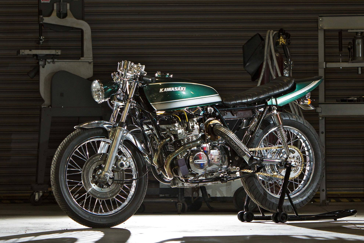 Return of the Cafe Racers - Force Fed – Magnum Opus Turbo KZ650