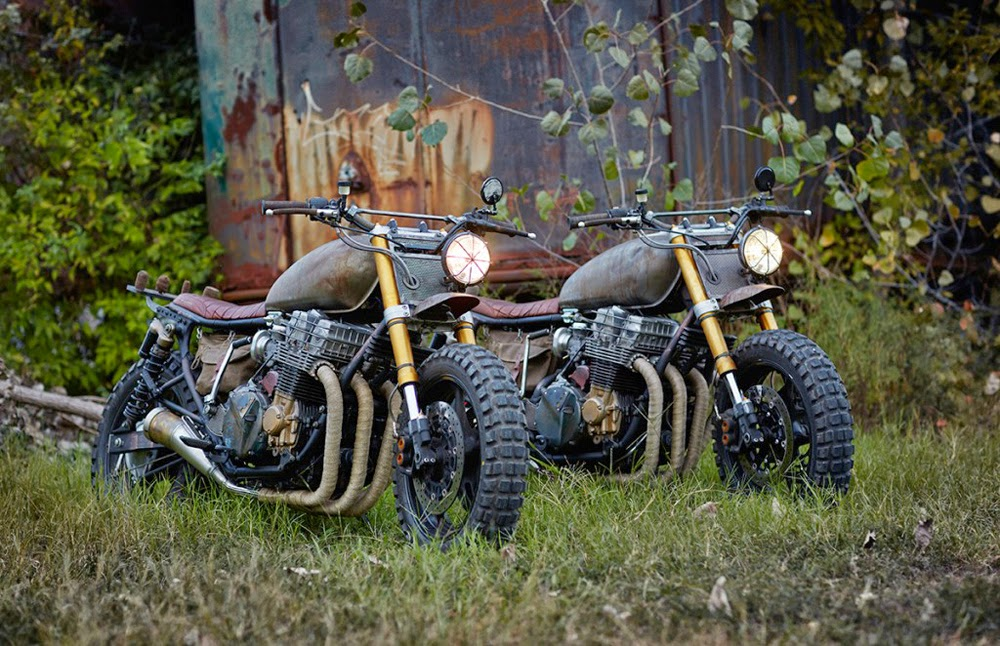 Return of the Cafe Racers - Classified Moto Walking Dead Motorcycles