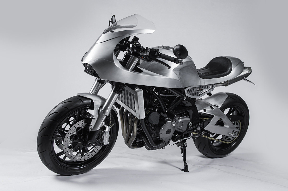 Benelli cafe racer indonesia white collar bike