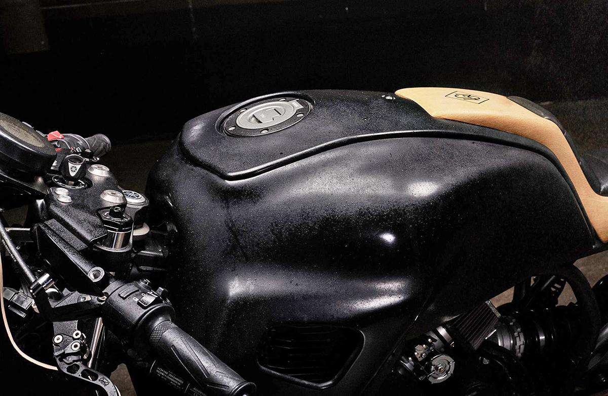 Yamaha XSR700 yardbuilt cafe racer