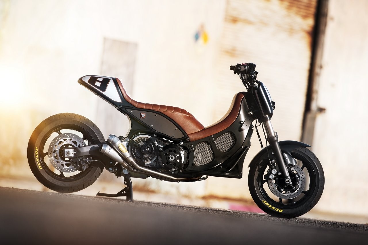 Return of the Cafe Racers - RSD Hyper Modified Yamaha TMax
