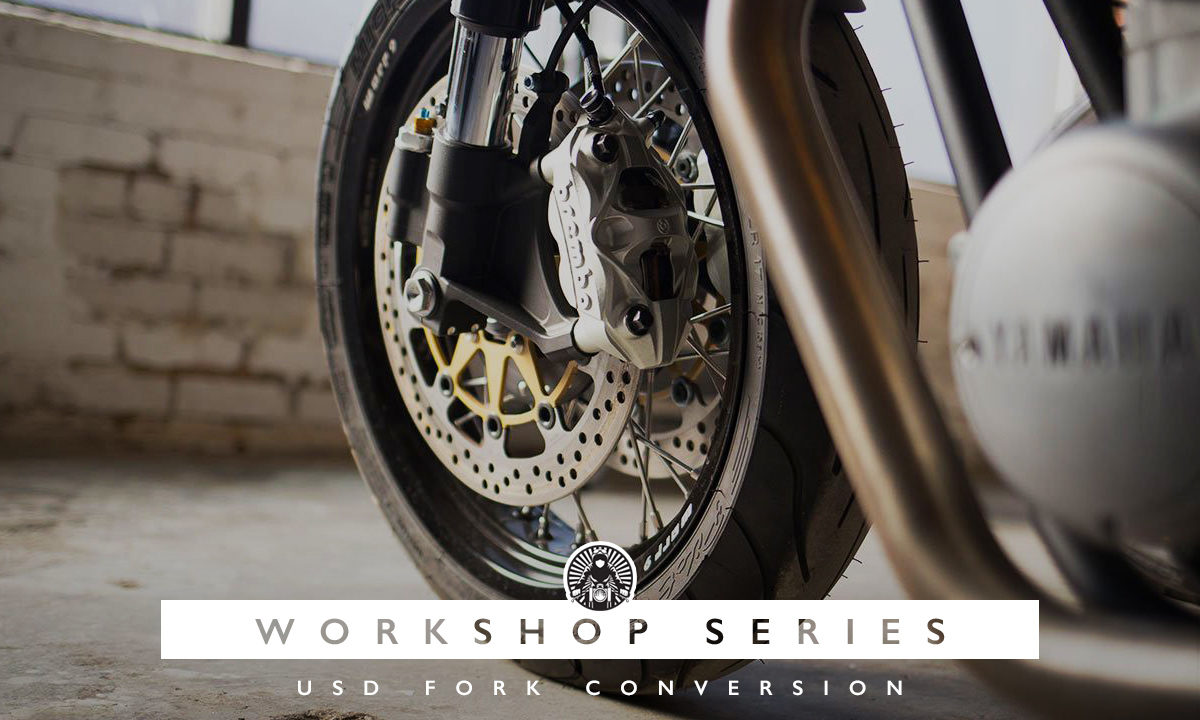 Return of the Cafe Racers - Workshop Series – Fork conversion with Cognito Moto