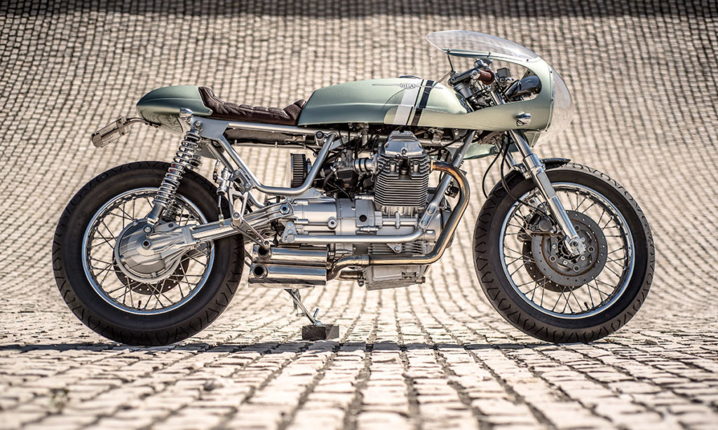 Return of the Cafe Racers - Ciao Bella – Rua Machines Moto Guzzi Nevada