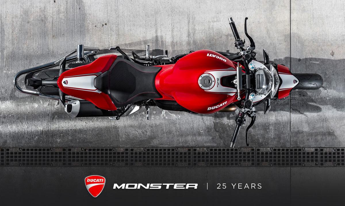 Ducati Monster 25th anniversary story