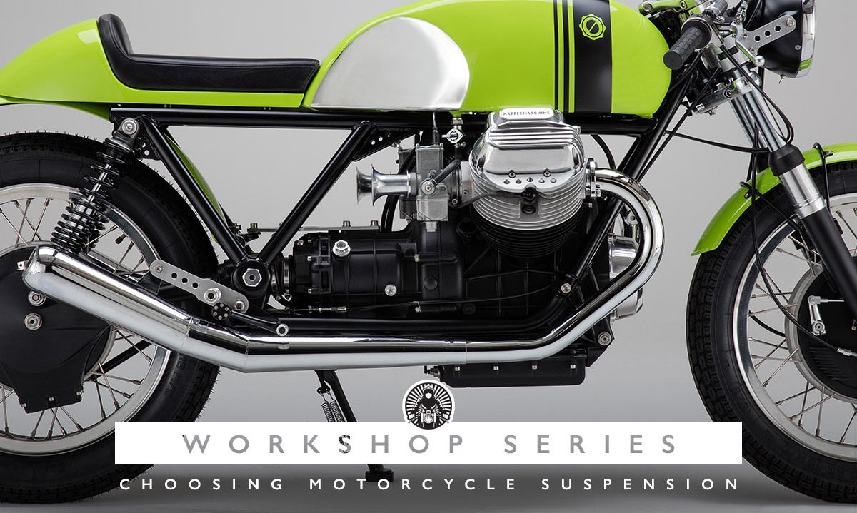 Motorcycle suspension upgrade how to