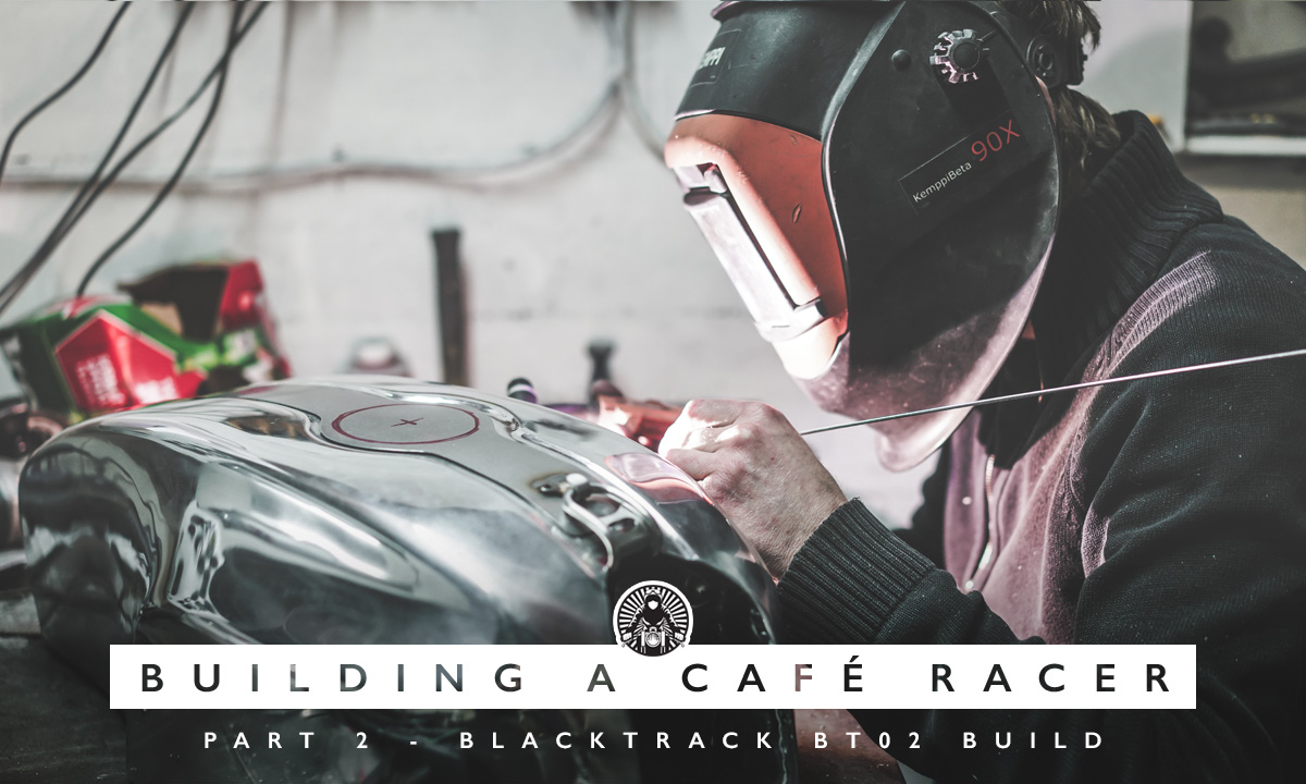 Building a Cafe Racer with Blacktrack Motors part 2