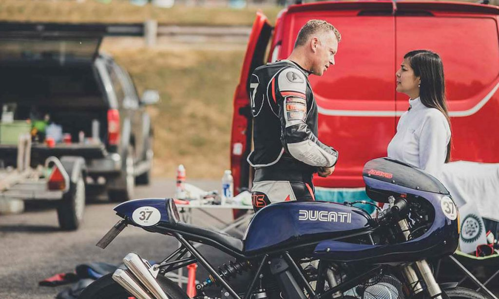 Return of the Cafe Racers - Cafe Racer Cup – Rob Jarvis Ducati 750SS