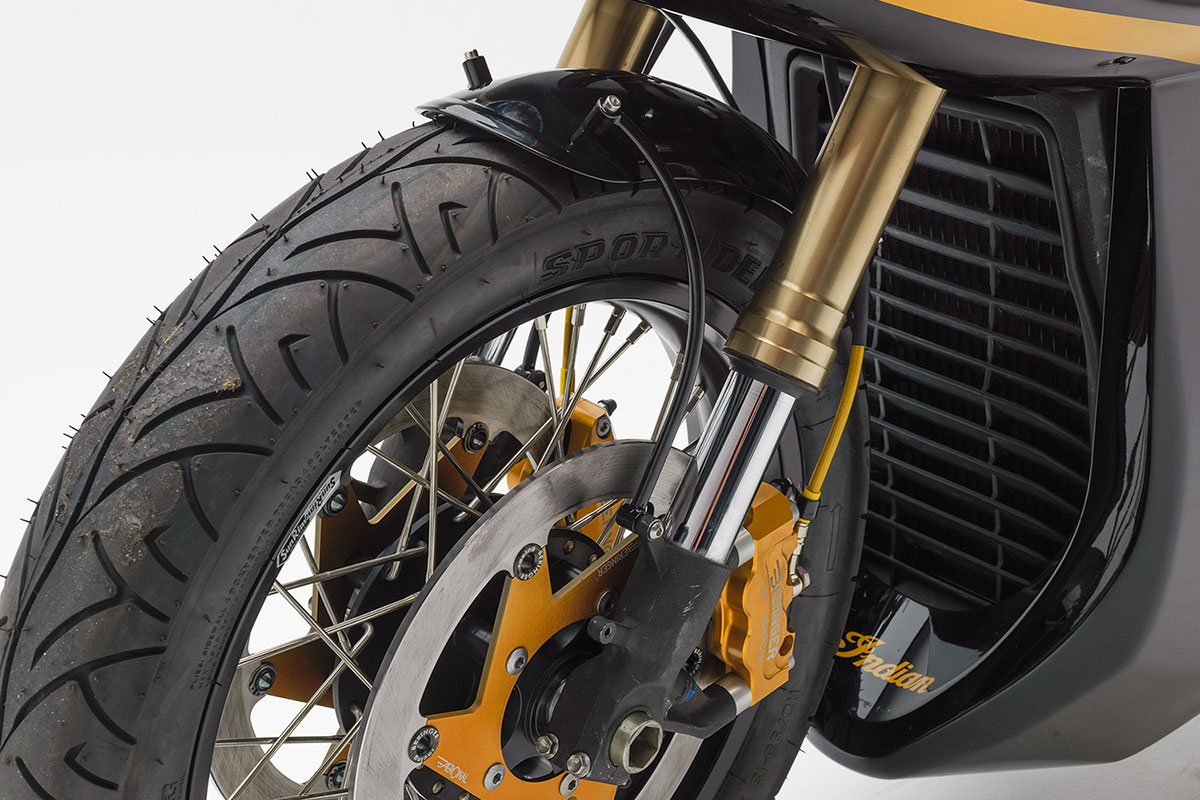 Indian Scout Cafe Racer 2018