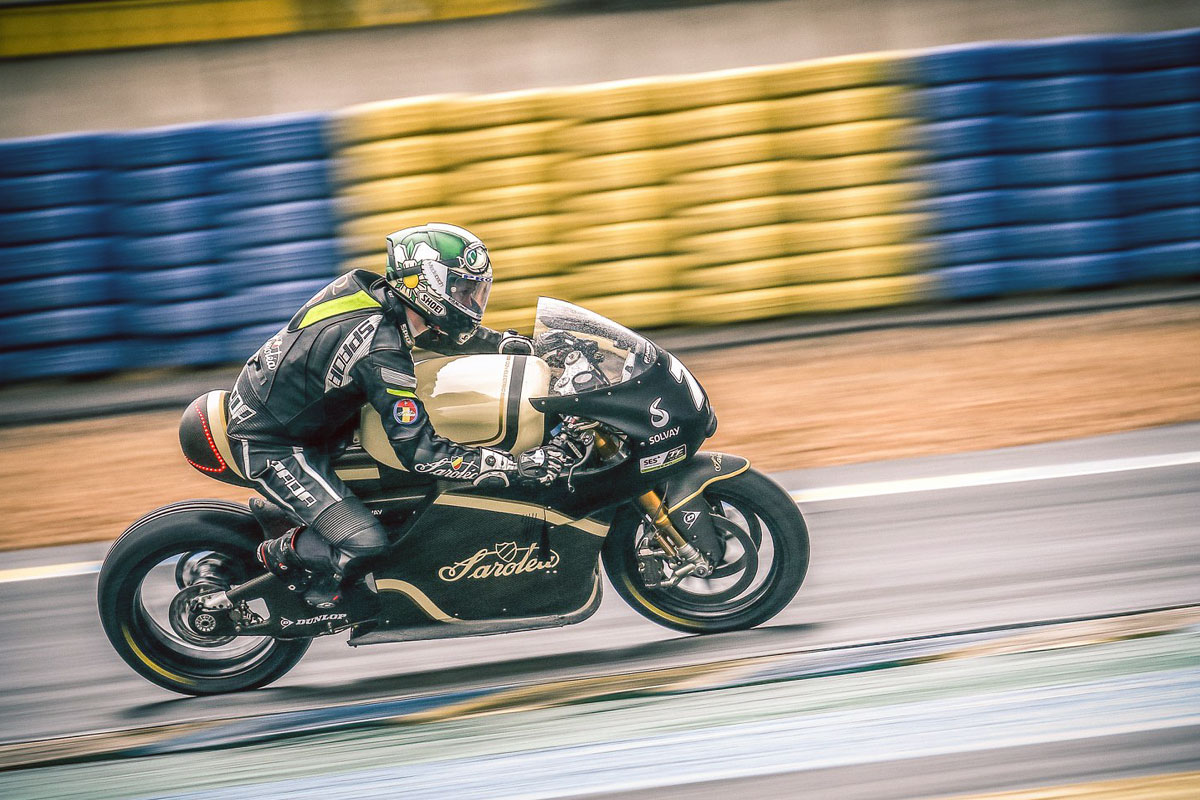 Sarolea electric motorcycle manx7