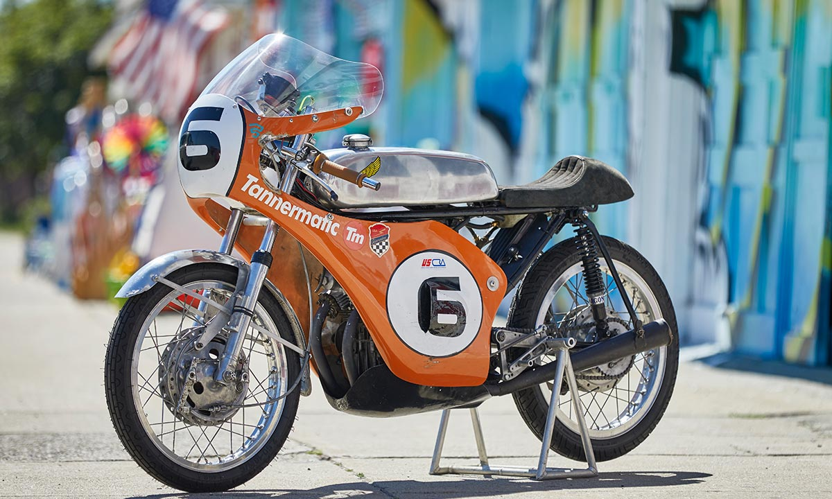 Return of the Cafe Racers - Tannermatic Racer – AHRMA Honda CB175
