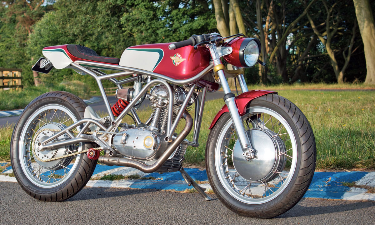 Custom Ducati 350 narrow case
