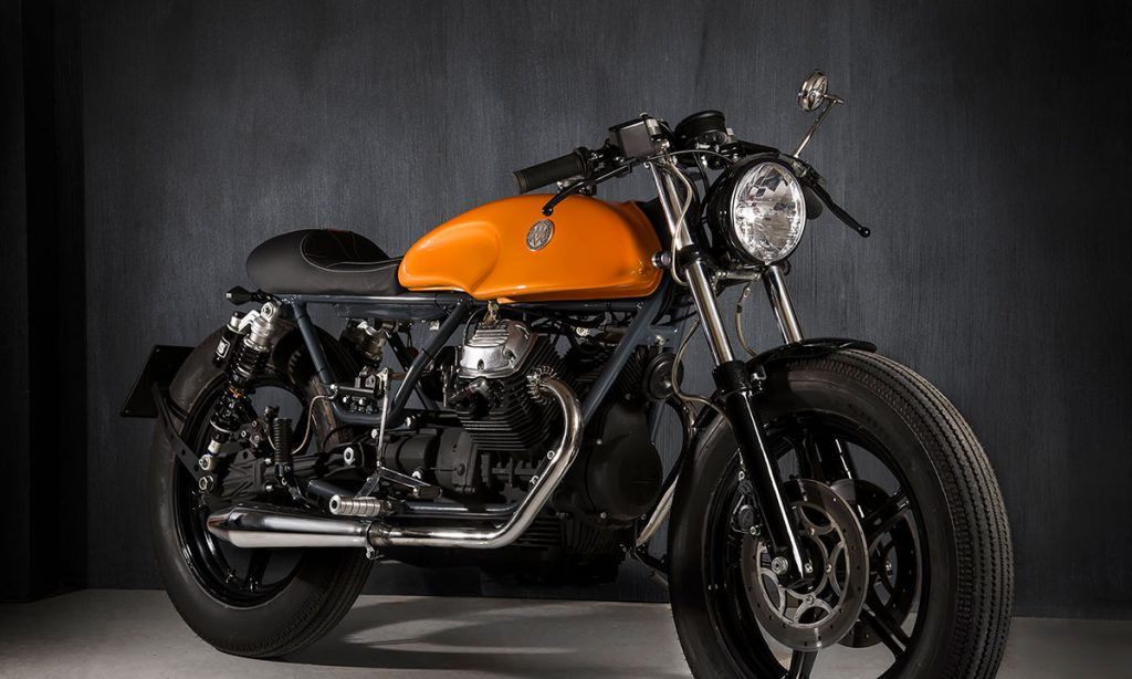 Return of the Cafe Racers - Matteucci Garage V35 SUNRISE