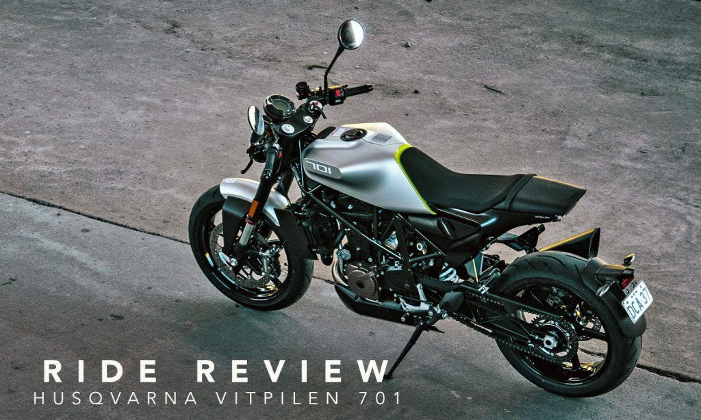 Return of the Cafe Racers - Husqvarna Vitpilen 701 Ride Review