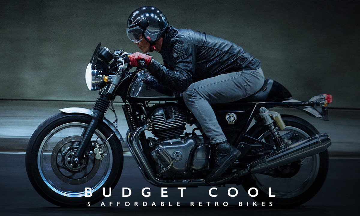 cheap motorcycles retro